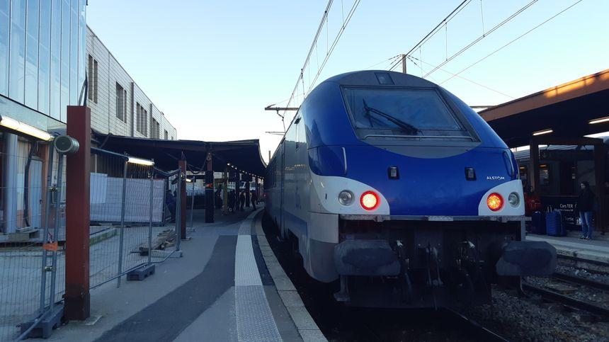 Notre train Chambéry-Grenoble