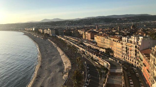 Un soleil magnifique sur Nice ces derniers jours
