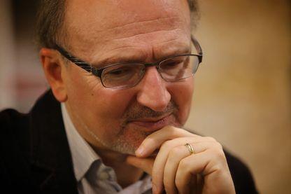 Le journaliste et écrivain Éric Fottorino en 2008