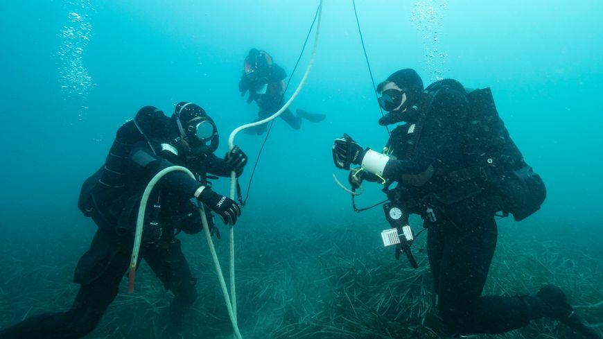 Plongeurs démineurs école de plongée