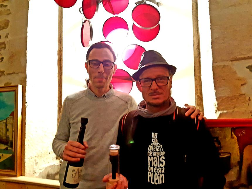 Etienne Martos et Sébastien Calvez