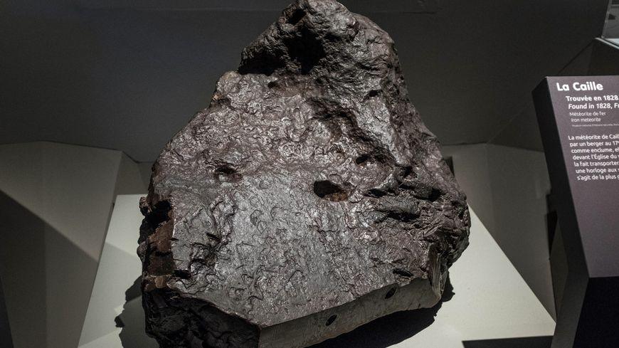 Météorite (photo d'illustration)