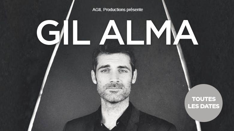 Gil Alma en spectacle le 8 mars à Abbeville