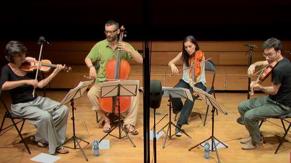 Schubert, Mozart, Jadin, Purcell... par le Quatuor Kitgut