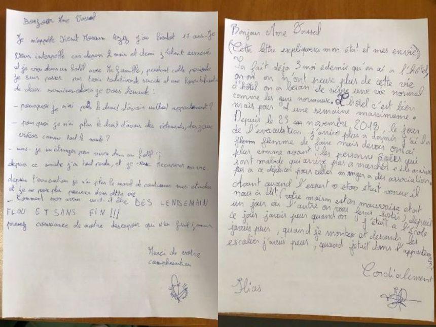 Les enfants ont adressé leurs lettres à Martine Vassal