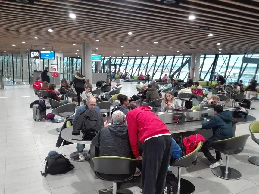Il faisait encore un peu jour, le 1er février 2019, à l'aéroport de Lyon/St-Exupéry où l'ESBF s'apprêtait à décoller direction la Russie via Istanbul