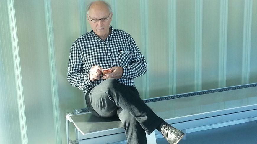 Bernard Sainz en septembre 2017 lors de son procès en première instance au tribunal correctionnel de Caen