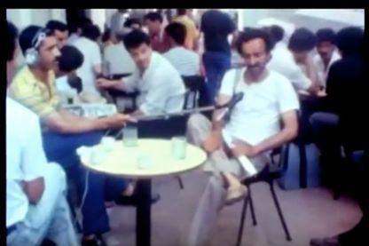 """Capture d'écran """"Qu'est-ce que le cinéma algérien ?"""" source : https://www.youtube.com/watch?v=YbQoDtujSpg"""