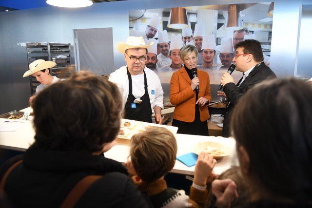 Les Toqués, en direct depuis le stand de la Drôme au Salon de l'Agriculture