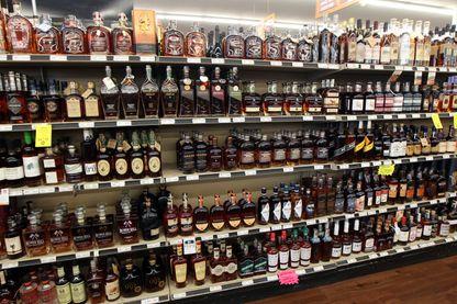 Un supermarché aux Etats-Unis