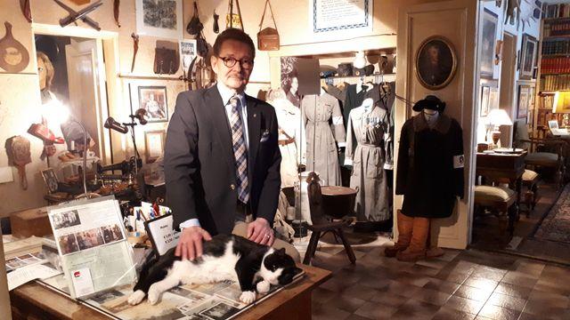 Jarmo a ouvert avec sa mère de 95 ans un musée de la guerre dans la maison familiale