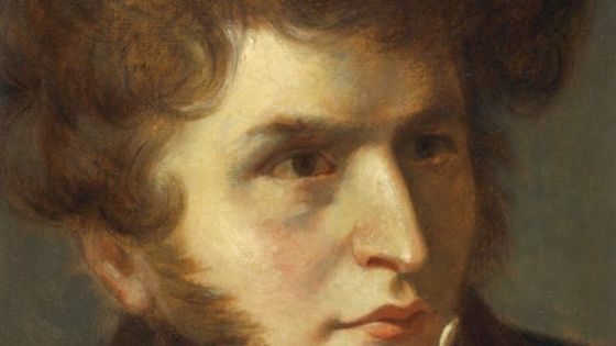 Portrait du compositeur Hector Berlioz