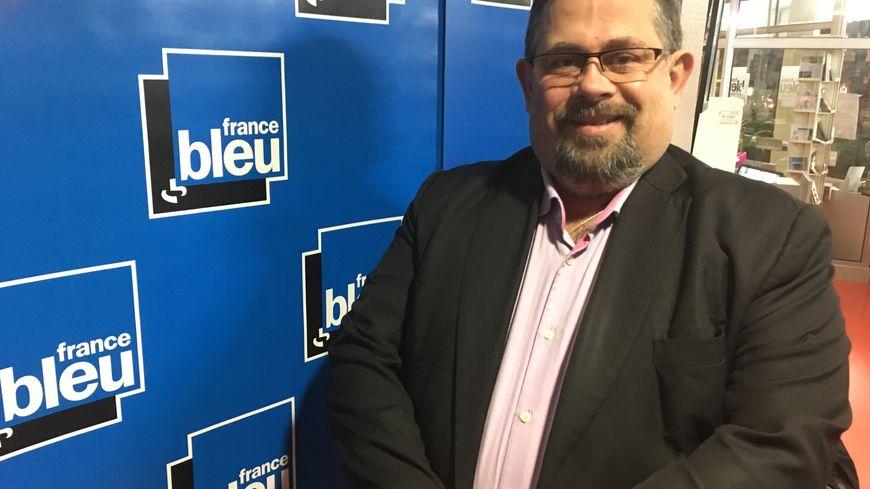 Cyril Cineux, adjoint au maire de Clermont-Ferrand en charge des transports