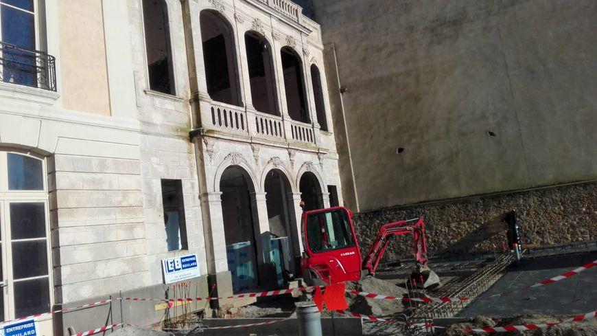La façade de l'ancien hôtel Leprince est conservée