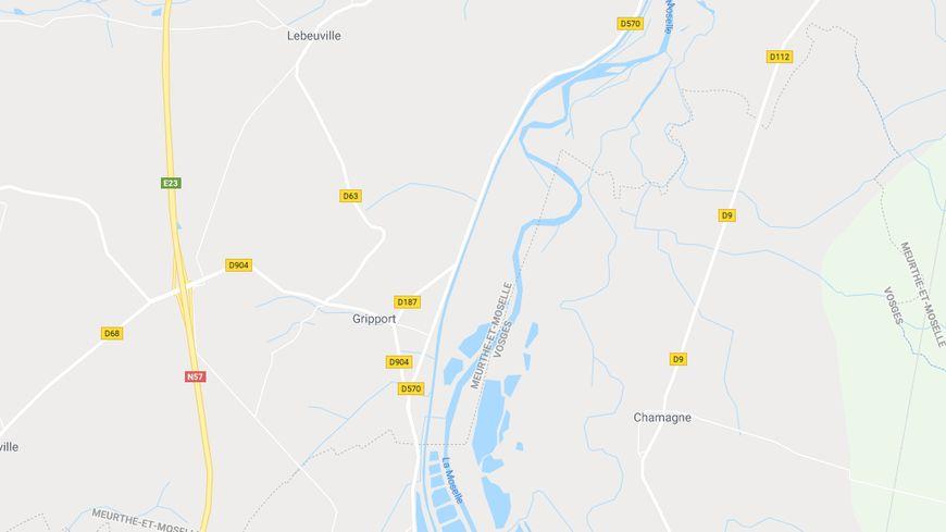 Le corps d'un homme a été retrouvé dans un étang entre Gripport et Bainville-aux-miroirs.