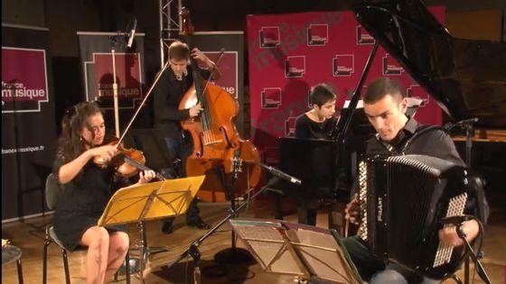 "Piazzolla   ""Chin Chin"" par le Spiritango Quartet"