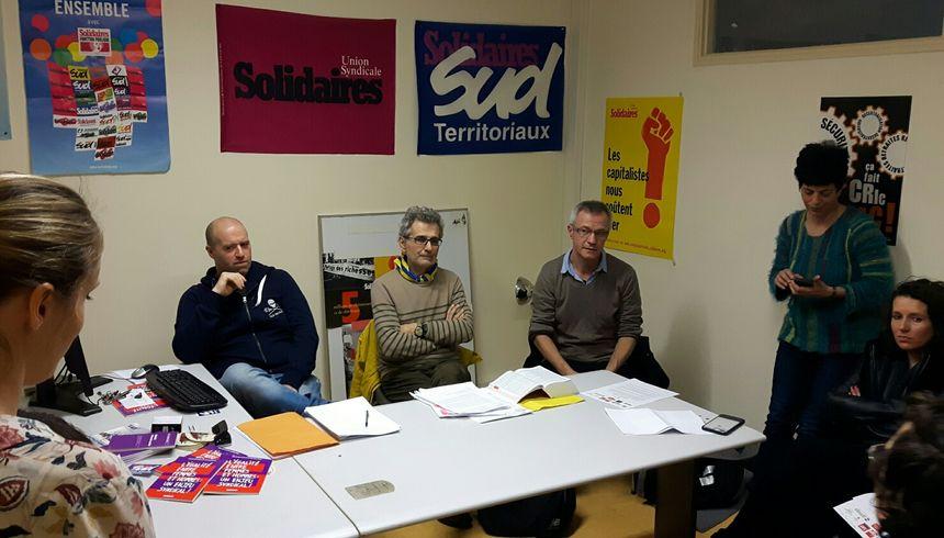Éducateurs, avocats, magistrats syndicalistes se mobilisent contre la réforme décidée par le gouvernement  - Radio France