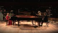 Hugues Dufourt : L'Éclair d'après Rimbaud, pour deux percussions et deux pianos