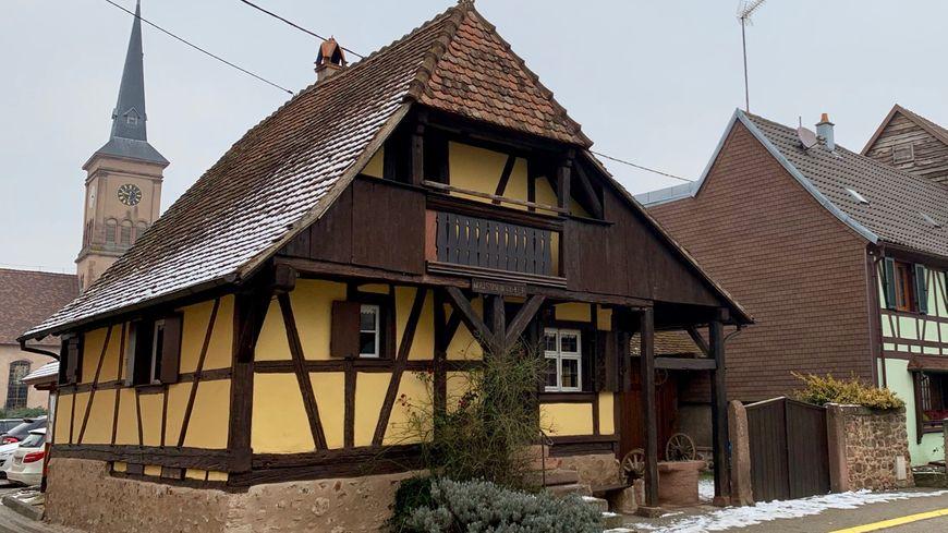 Goxwiller, la maison Peter