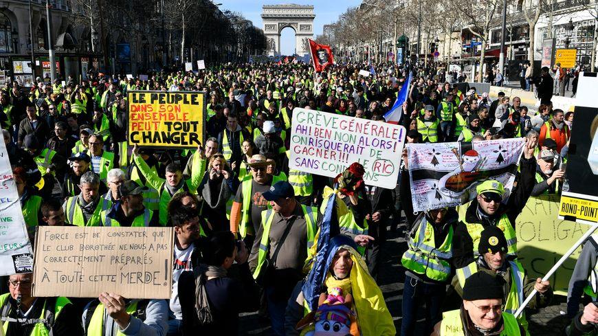 La semaine dernière, la manifestation parisienne a rassemblée 5.000 personnes selon les chiffres du ministère de l'Intérieur