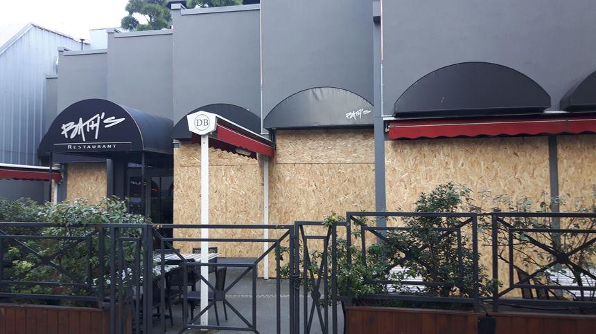 Restaurant fermé