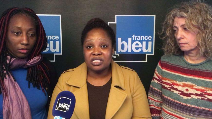 """L'appel de la maman de Jean-Noah.(Sa tante (à gauche), Laeticia Achikian-Durand, la présidente de l'association """"Un pour tous, tous pour l'autisme"""" (à droite)"""