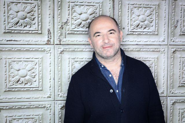 Mohamed Hamidi, metteur en scène, scénariste et réalisateur pednant le Festival international du film de comédie de l'Alpe d'Huez le 16 janvier 2019.