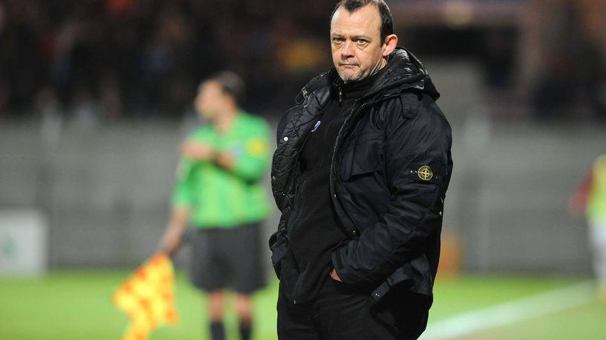 Pascal Plancque, l'entraîneur des Chamois depuis mi-janvier