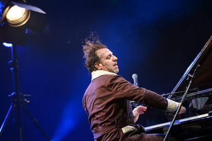 Chilly Gonzales, compositeur et musicien  à Montreux pendant le Festival de jazz le 2 juillet 2017.