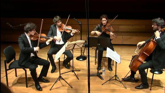 Haydn, Beethoven et Mendelssohn par le Quatuor Hanson