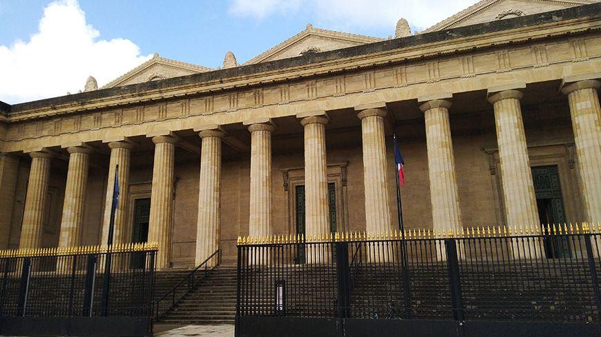La Cour d'Assises de Gironde à Bordeaux.