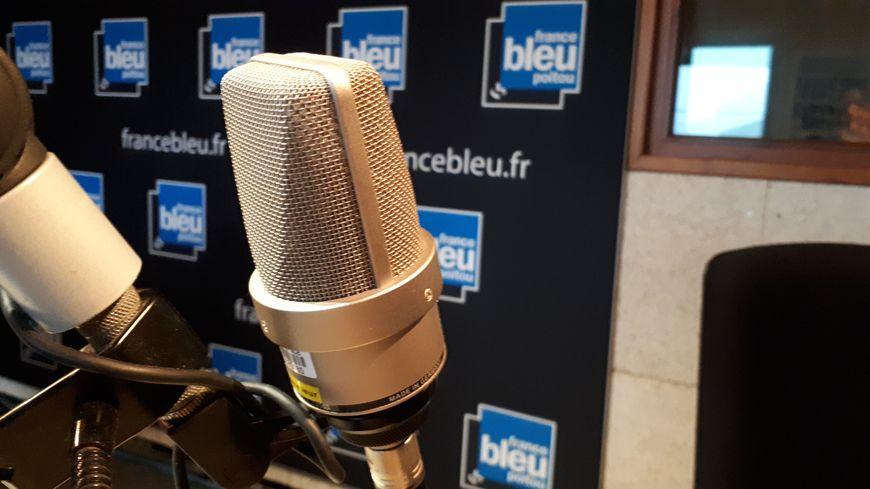 Le studio de France Bleu Poitou