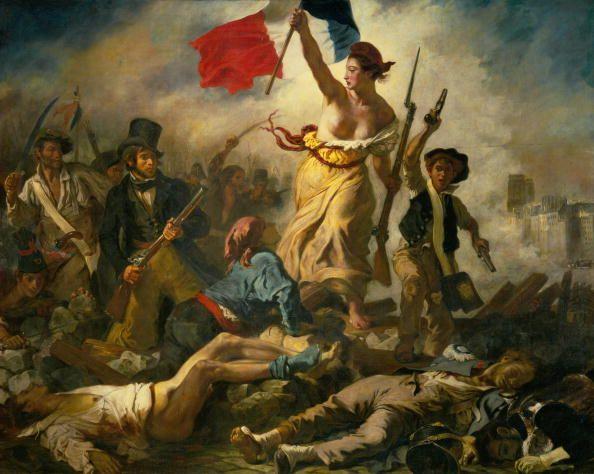 """""""La Liberté guidant le peuple"""", d'Eugène Delacroix"""