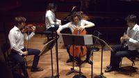 L'Ensemble Messiaen, Raphaël Sévère et le Quatuor Van Kuijk interprètent Messiaen et Brahms