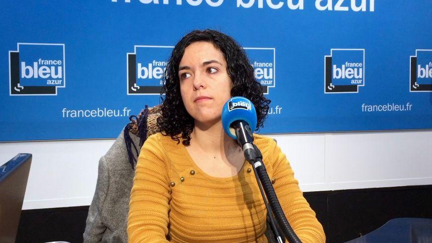Manon Aubry, tête de liste e la France Insoumise pour les Européennes