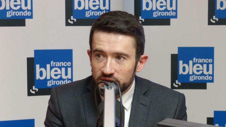 """Fabien Robert invité de """"Vendredi Politique"""" sur France Bleu Gironde."""