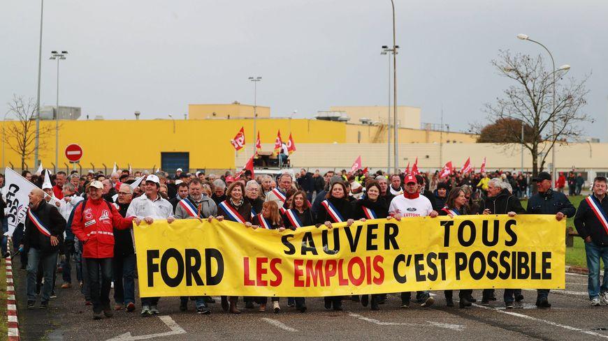 Lors de la manifestation du 24 novembre 2018, à Blanquefort