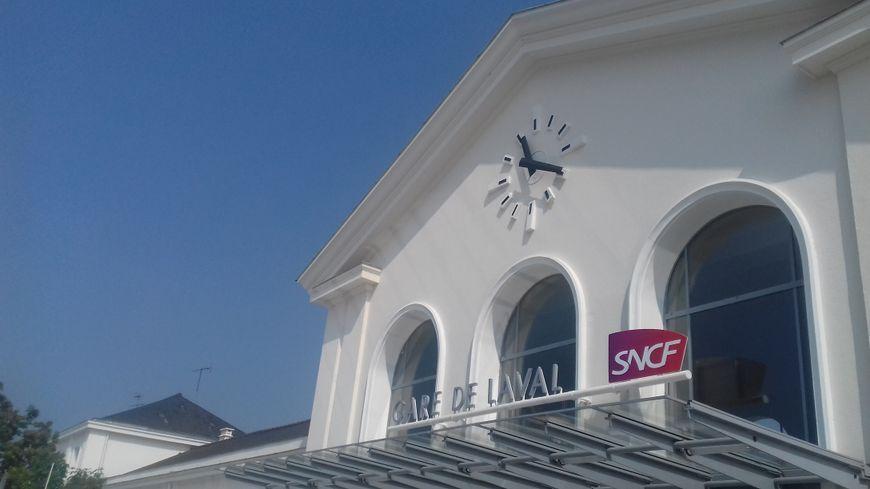 La gare de Laval (illustration)