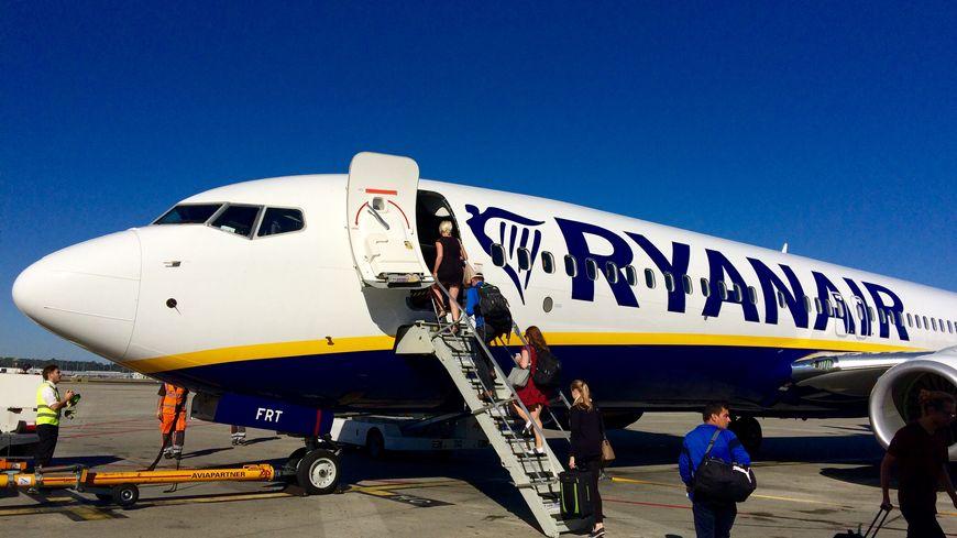 Un avion de la compagnie Ryanair sur le tarmac de l'aéroport Toulouse-Blagnac (archives)