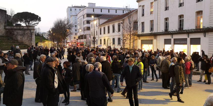 Contre l'antisémitisme à Bayonne