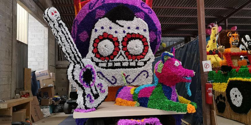 Quand la fête des morts mexicaine rejoint la fête de carnaval auxonnaise