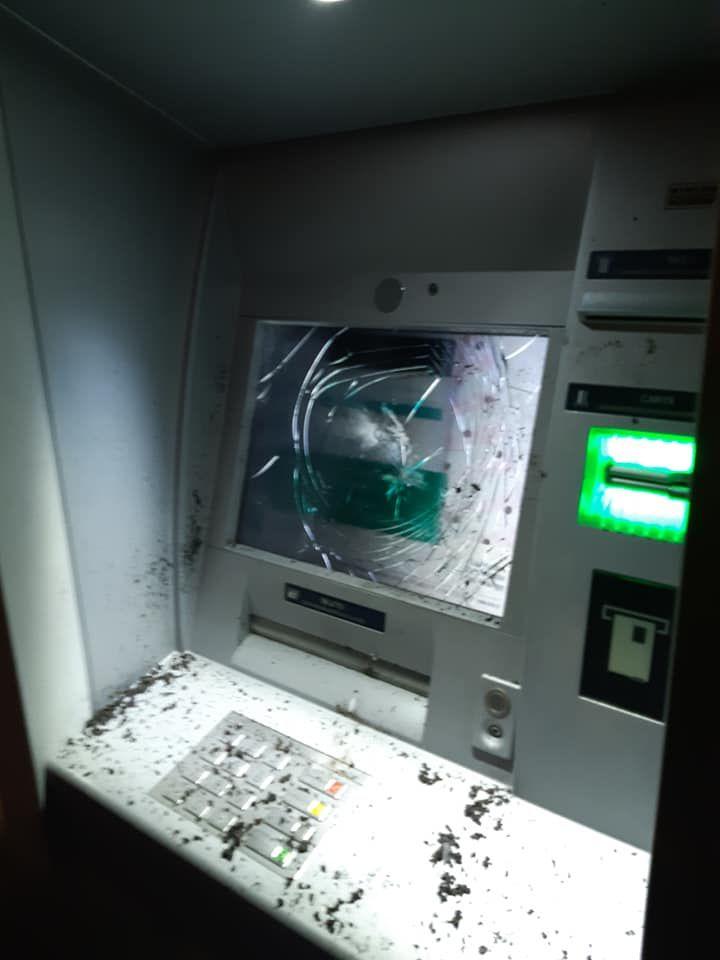 Distributeur automatique vandalisé à Bayonne