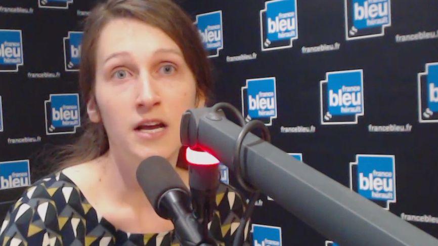 Camille Halut, observatrice pour la Ligue des Droits de l'Homme de Montpellier