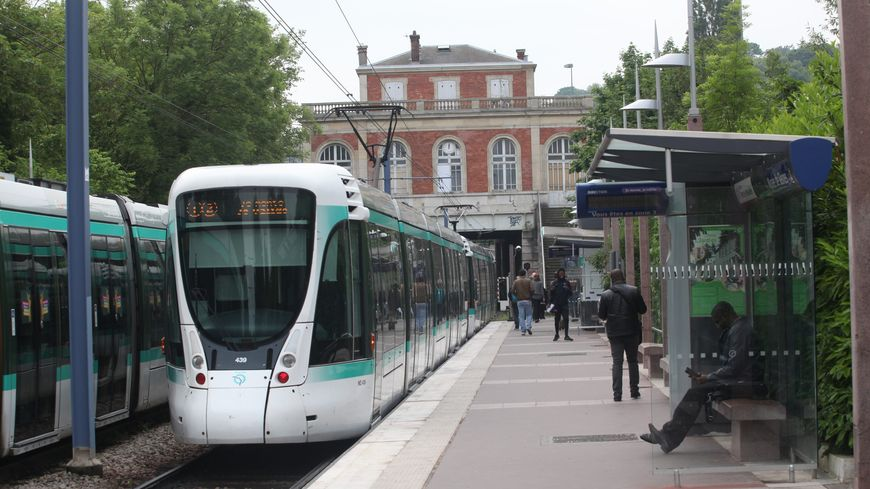 Tramway T2, photo d'illustration