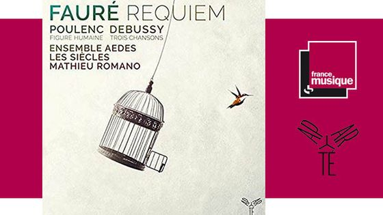 Ensemble Aedes, Francis Poulenc - Gabriel Fauré