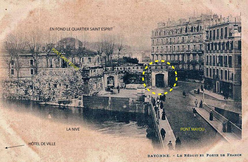 Porte de France avant 1907