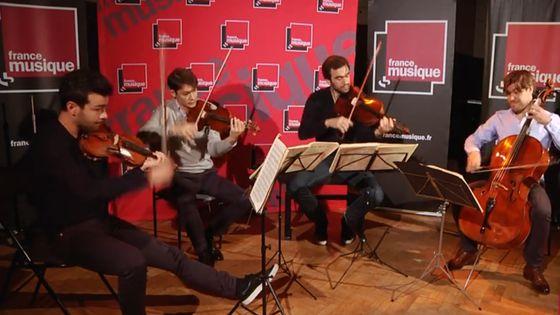 "Dvořák | Quatuor ""Américain"" (Finale) par le Quatuor Modigliani"