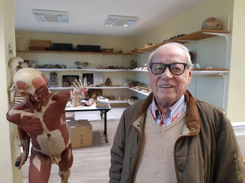 Après des années à la présidence de l'association du musée, François Dubosc passe le relais ce vendredi
