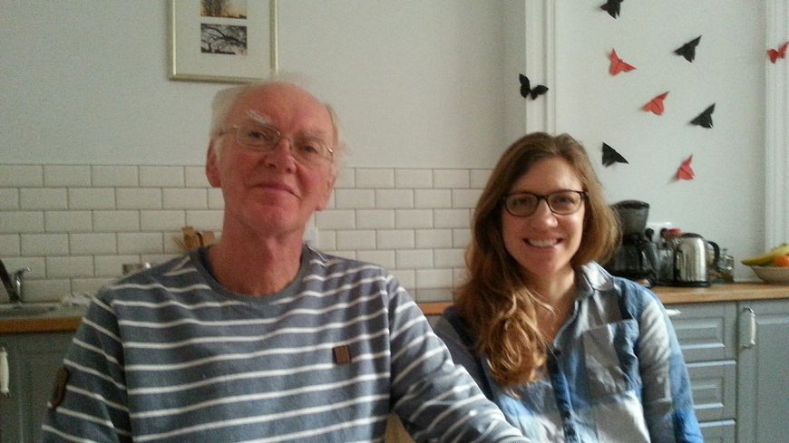 Christopher Gardiner et sa fille, Laura