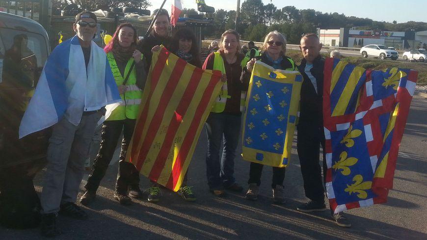 Les marcheurs, porte drapeaux des Gilets Jaunes